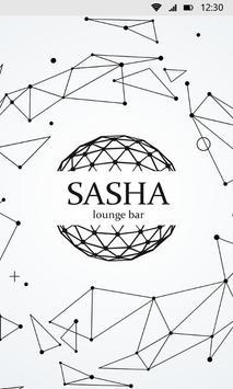 SASHA lounge bar poster