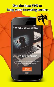 Ghost Free VPN Super VPN Safe Connect screenshot 1