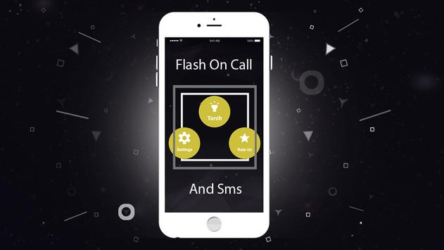 Flash on Call and SMS with LED TORCH and SOS light screenshot 2