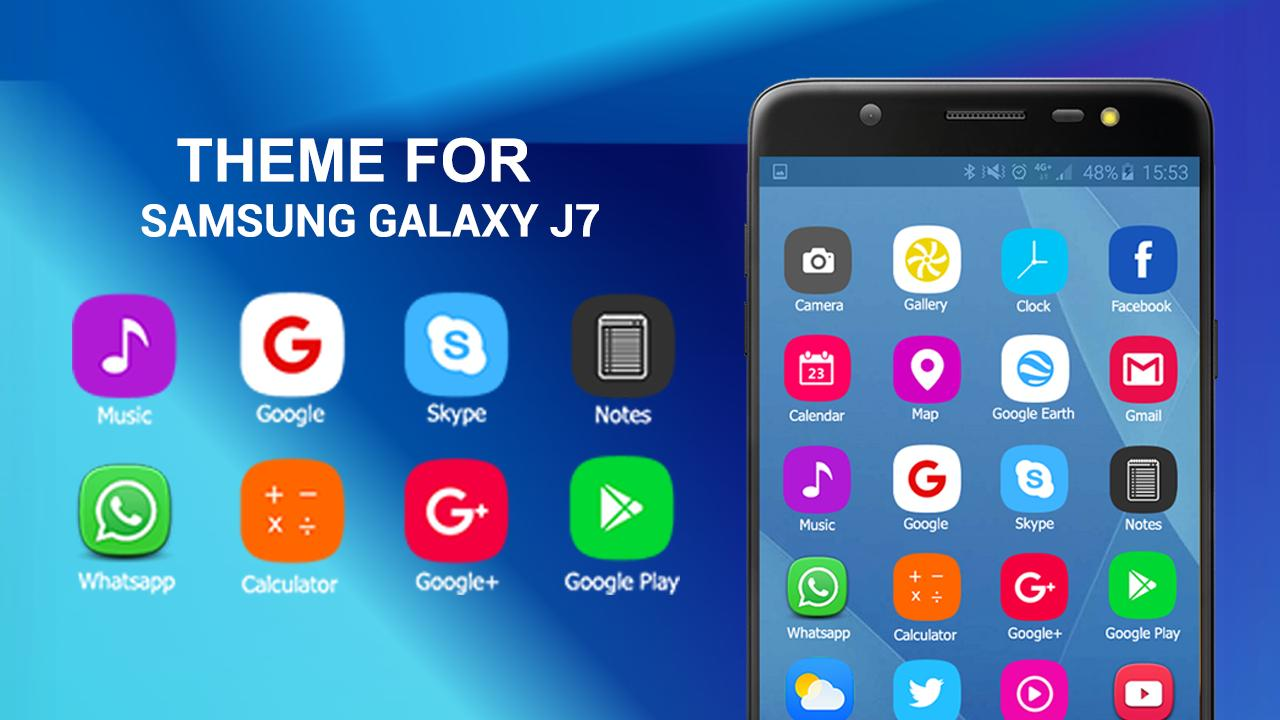 HD Theme launcher for Samsung Galaxy J7 prime for Android - APK Download