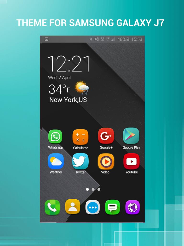 Hd Theme Launcher For Samsung Galaxy J7 Prime For Android