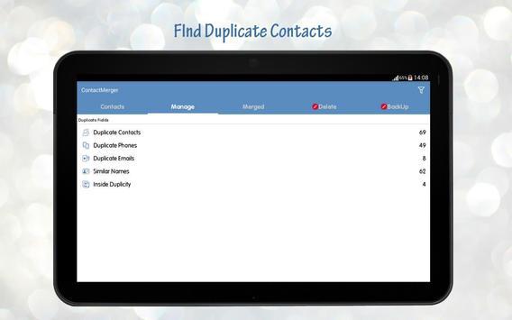 Duplicate Contact Merger screenshot 10