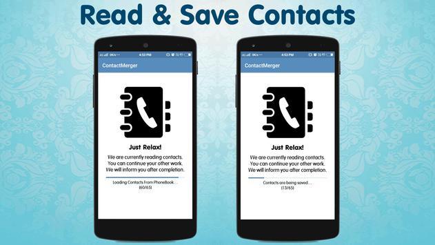 Duplicate Contact Merger screenshot 1