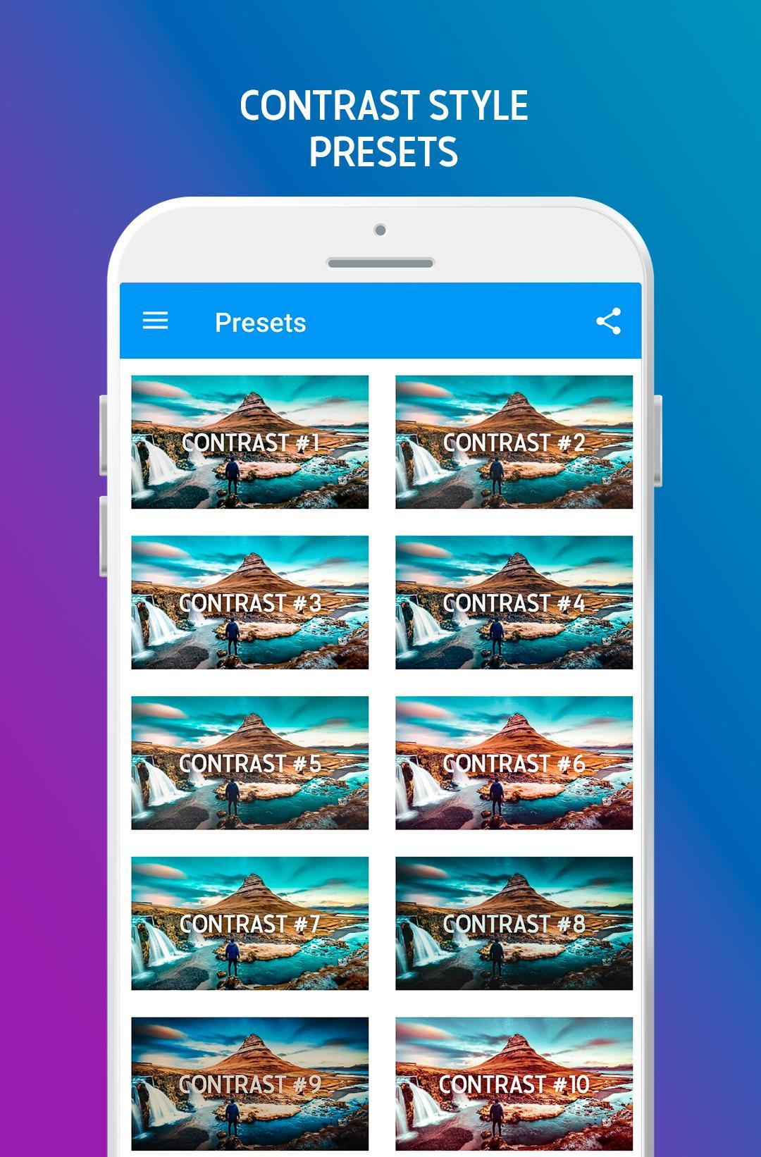 Mobile Presets For Lightroom - Free DNG for Android - APK Download