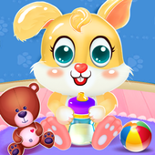 Bunny Baby Pet Care House icon