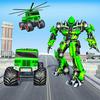 US Army Monster Truck Robot Transforming War 图标