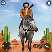 West Cow Boy Gunfighter Shoooting Strike icon