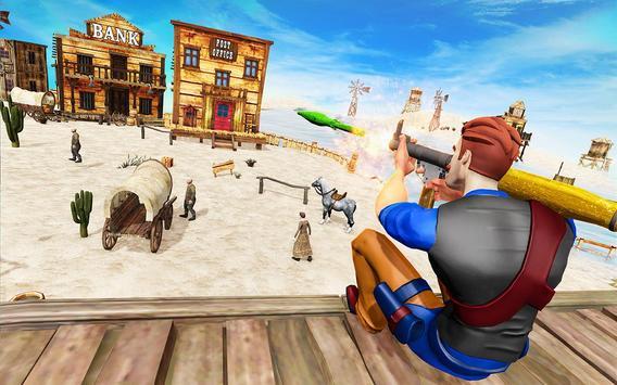 West Cow Boy Gunfighter Shoooting Strike screenshot 3