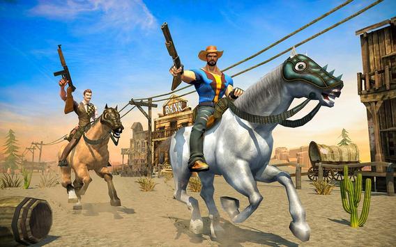 West Cow Boy Gunfighter Shoooting Strike screenshot 1