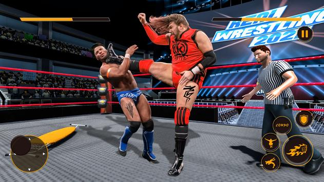Real Wrestling Fight Championship: Wrestling Games screenshot 14