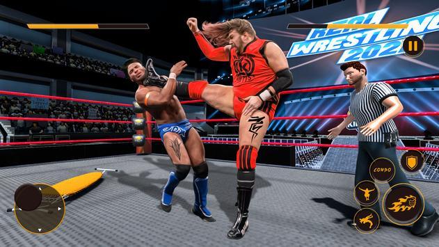 Real Wrestling Fight Championship: Wrestling Games screenshot 2