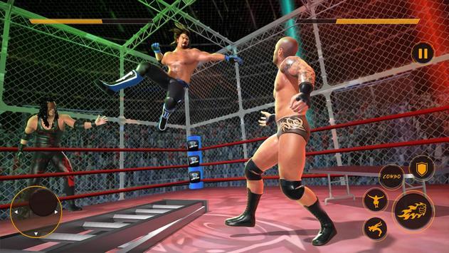 Real Wrestling Fight Championship: Wrestling Games screenshot 9