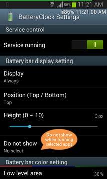 BatteryClock-Ad screenshot 1