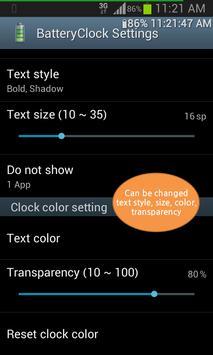 BatteryClock-Ad screenshot 4