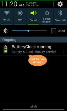 BatteryClock-Ad screenshot 5