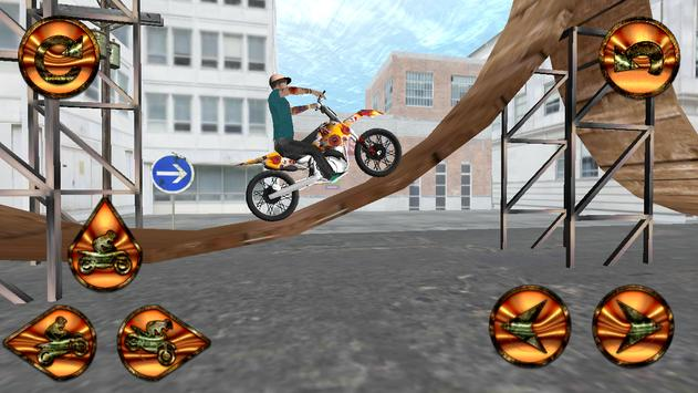 Real Stunt Bike Mania : Racing screenshot 1