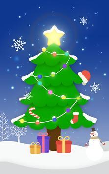 Christmas Tree Flashlight poster
