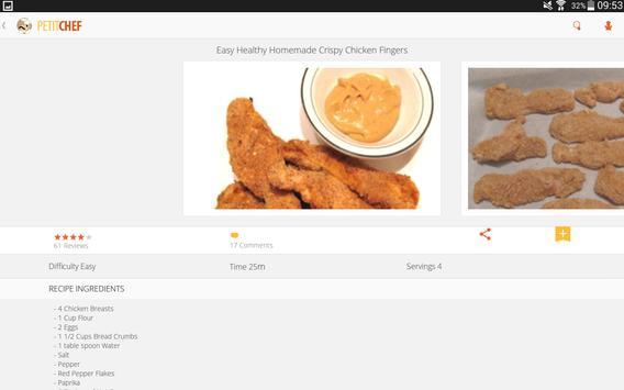 PetitChef, cooking and recipes screenshot 5