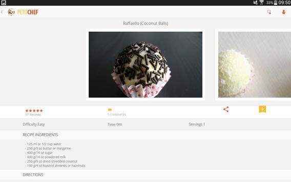 PetitChef, cooking and recipes screenshot 6