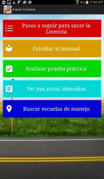 Examen de Manejo y Prueba Teórica captura de pantalla 13