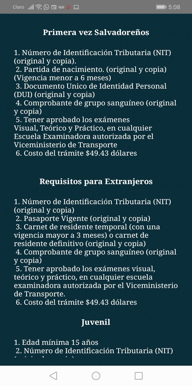 Examen De Manejo Y Prueba Teorica For Android Apk Download
