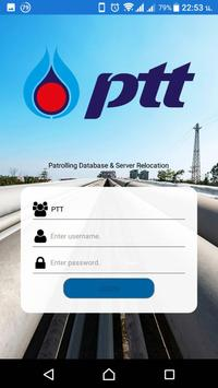 PTT Pipeline Patrolling poster