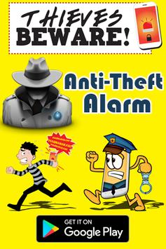 Don't Touch My Mobile Phone - Anti Theft Alarm poster