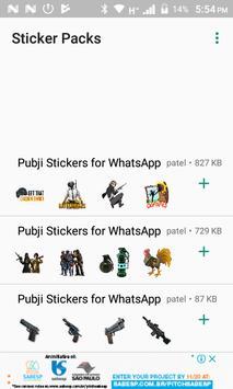 PUBJI Stickers(WA Stickers) poster