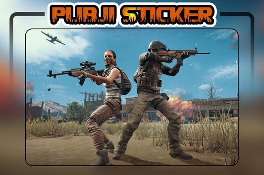 PUBJI Stickers(WA Stickers) screenshot 4