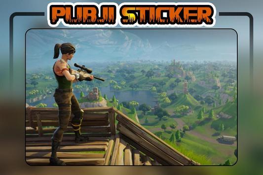 PUBJI Stickers(WA Stickers) screenshot 6