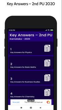 2nd Puc Key Answer 2020 screenshot 1
