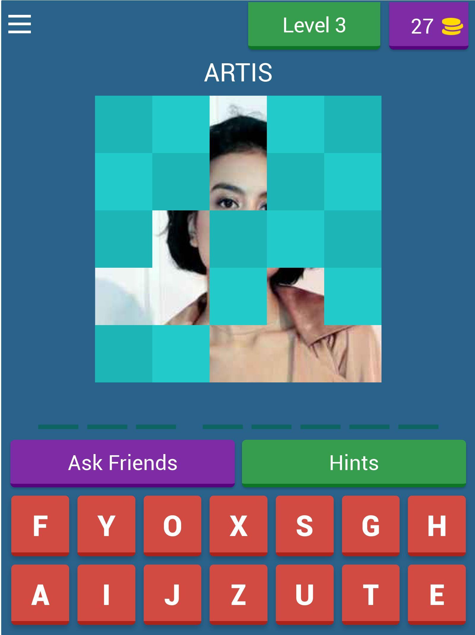 Tebak Gambar Artis For Android Apk Download