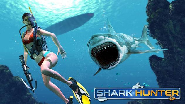 SHARK HUNTER & SHARK HUNTING poster