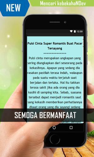 Puisi Cinta Super Romantis Buat Pacar Tersayang For Android Apk Download