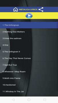 The Unforgiven Lyrics App poster