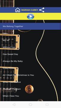 We Belong Together Lyrics App poster