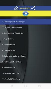 Stay With Me Lyrics App poster