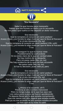 Era Necesario Lyrics App screenshot 1