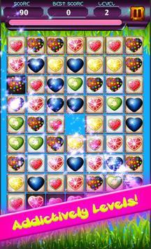 Match 3 Fruit Splash Mania - Puzzle Game poster