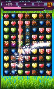 Match 3 Fruit Splash Mania - Puzzle Game screenshot 1