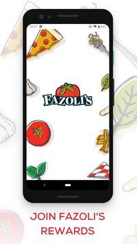 Fazoli's الملصق