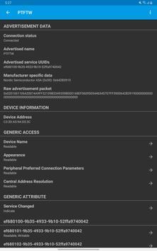 LightBlue® — Bluetooth Low Energy ảnh chụp màn hình 13