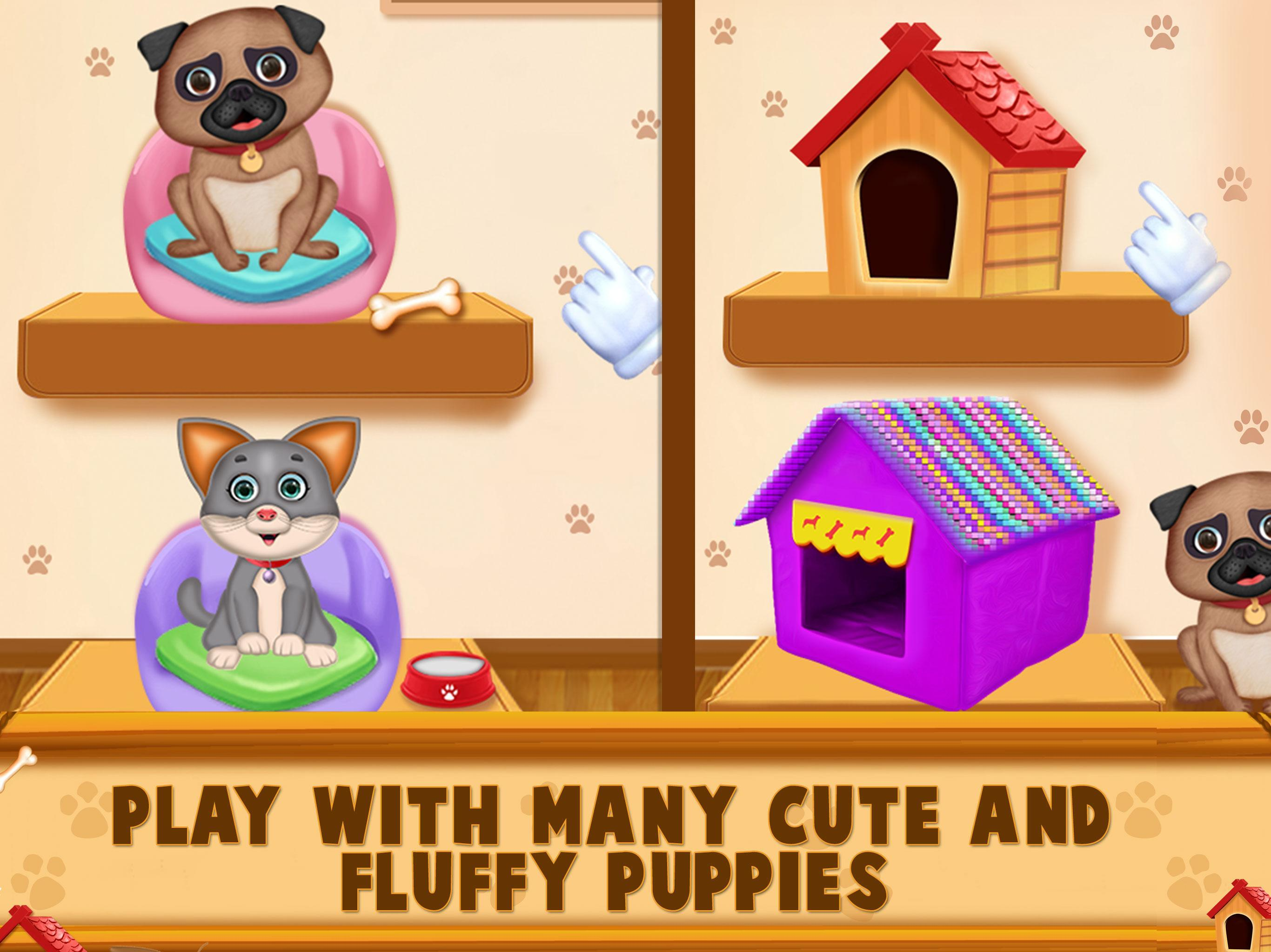 Puppy House Games