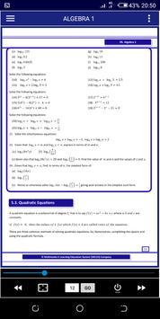 Algebra 1 FREE A-Level Pure Math syot layar 7