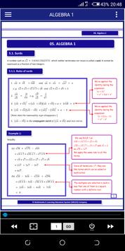 Algebra 1 FREE A-Level Pure Math poster