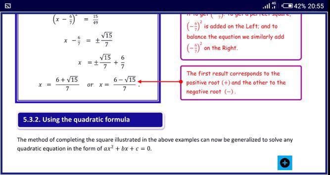 Algebra 1 FREE A-Level Pure Math syot layar 10