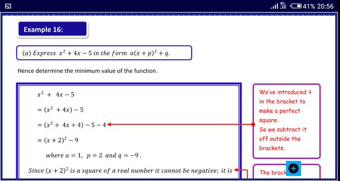 Algebra 1 FREE A-Level Pure Math syot layar 15