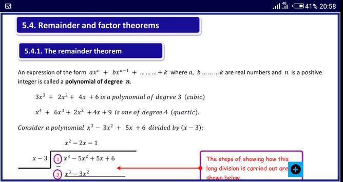 Algebra 1 FREE A-Level Pure Math syot layar 18