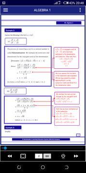 Algebra 1 FREE A-Level Pure Math syot layar 1