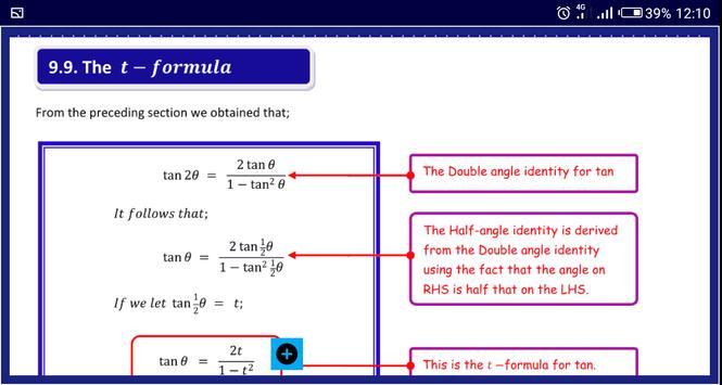 Trigonometry 1 स्क्रीनशॉट 11